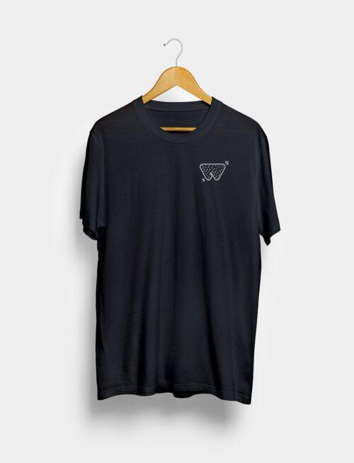 Camiseta Clubbing Negra Frontal