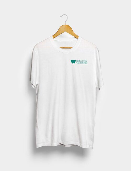 Camiseta Chill Out Blanca Frontal