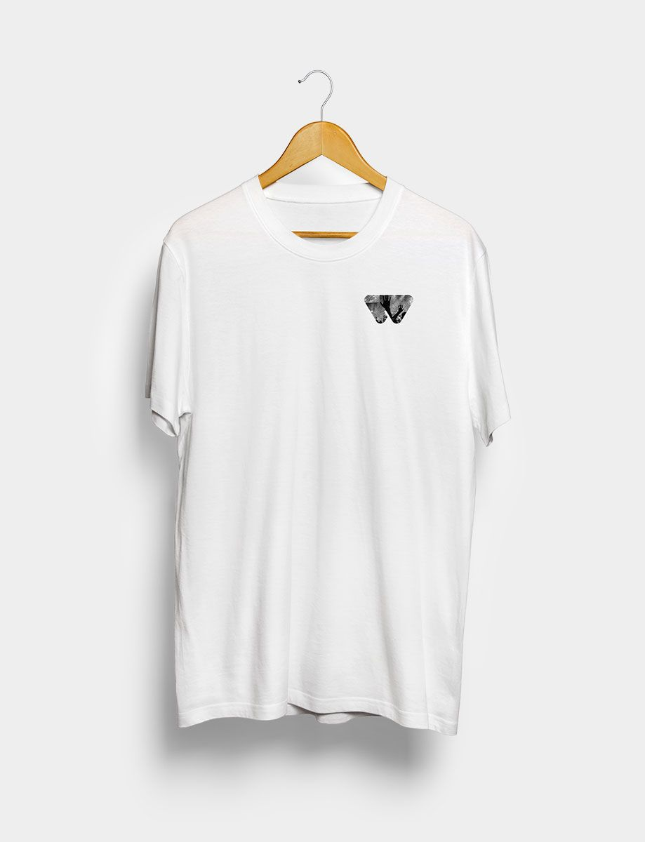 Camiseta Music Collective Blanca Frontal