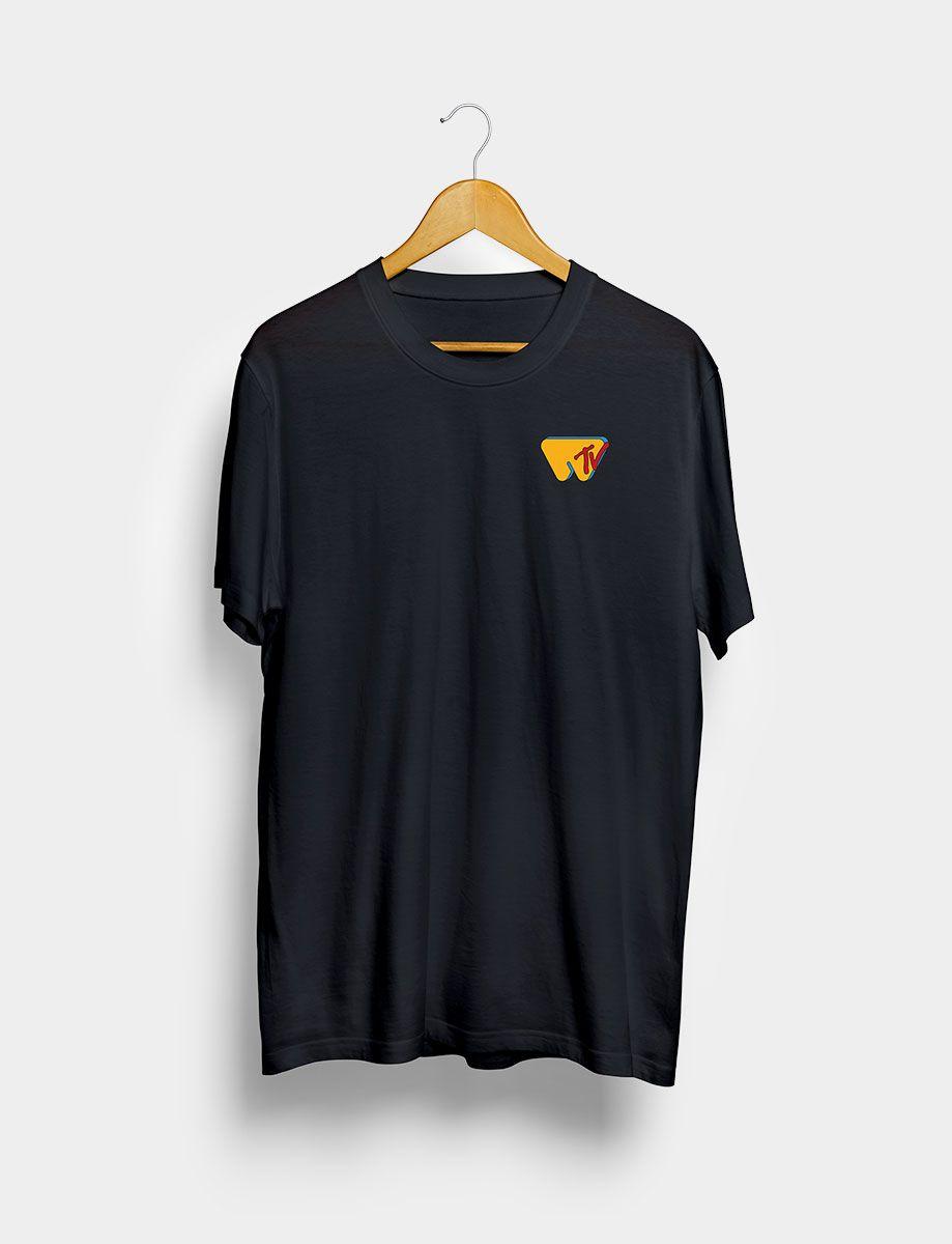Camiseta Wololo TV Negra Frontal
