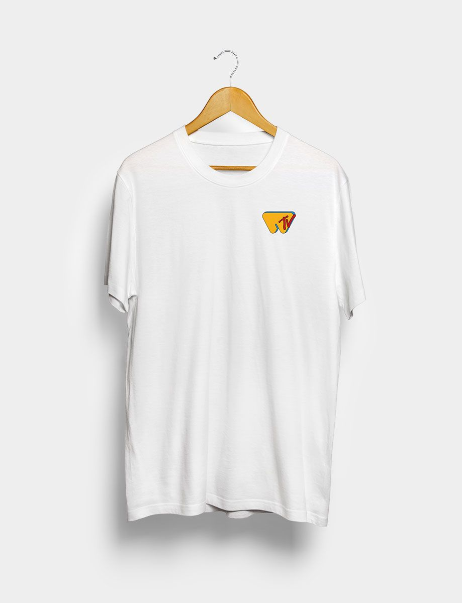 Camiseta Wololo TV Blanca Frontal